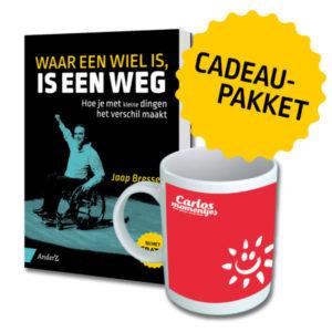Cadeaupakket: Boek + Beker